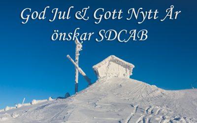 God Jul & Gott Nytt År önskar SDCAB