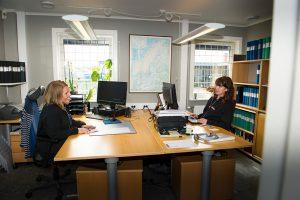 SDCAB´s kontor i Nora