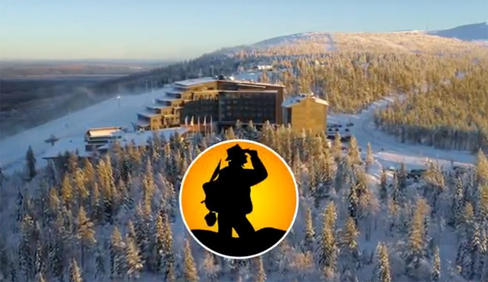 FEM mässan i Levi, Lappland, Finland